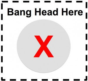 A free resource! Clip along the dotted line and post to your wall as needed.