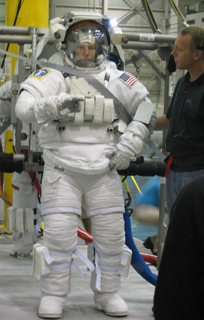 NASA Astronaut - Neutral Buoyancy Lab (NBL)